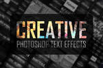 Creative Text Effects