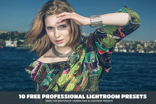 10 Free Professional Lightroom Presets
