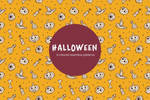 Free Halloween Vector Seamless Pattern