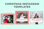 Free Christmas Instagram Templates by symufa