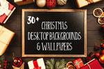 30+ Free Christmas Desktop Backgrounds Wallpaper