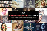 60 Professional Photo Retouch Actions by symufa
