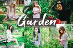 Free Garden Mobile And Desktop Lightroom Preset by symufa