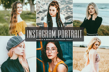Free Instagram Portrait Mobile Desktop Lightroom by symufa