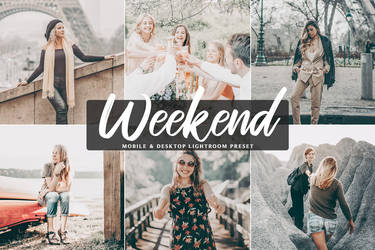 Free Weekend Mobile And Desktop Lightroom Preset by symufa