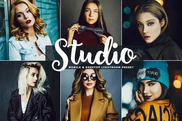Free Studio Mobile And Desktop Lightroom Preset by symufa