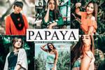 Free Papaya Mobile And Desktop Lightroom Preset