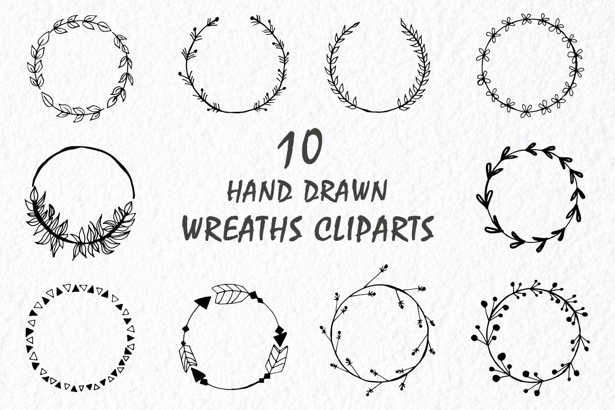 Free Handmade Wreaths Cliparts