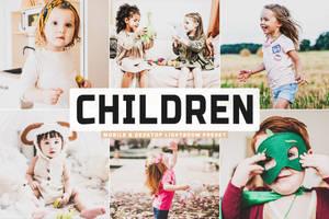 Free Children Mobile And Desktop Lightroom Preset
