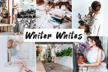 $1 Whiter Whites Lightroom Presets - PC And Mobile