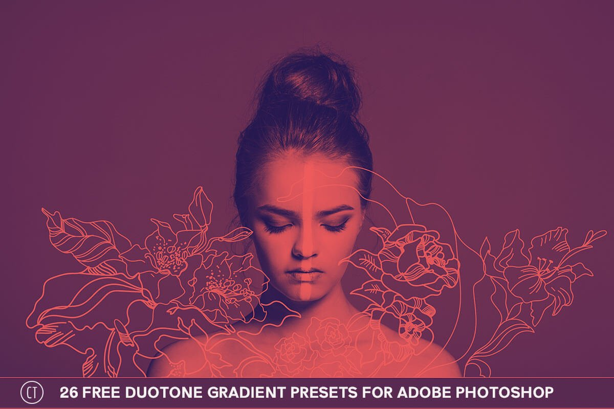 26 Free Duotone Gradient Presets for Photoshop