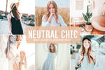 Neutral Chic Mobile And Desktop Lightroom Presets by symufa