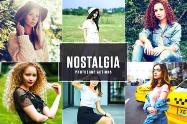 Free Nostalgia Photoshop Actions by symufa