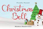 Christmas Bell Handwritten Font