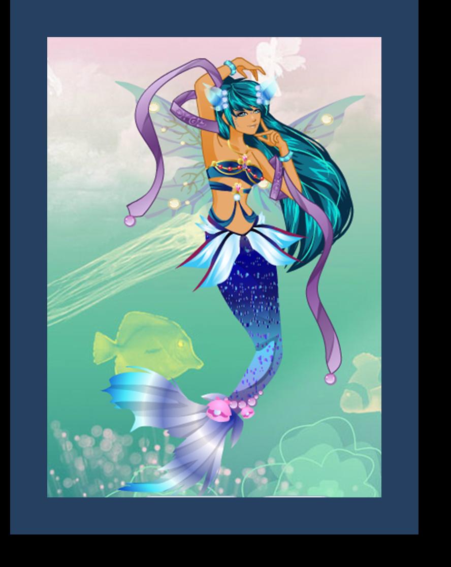 Blue Mermaid by Oceanisuna