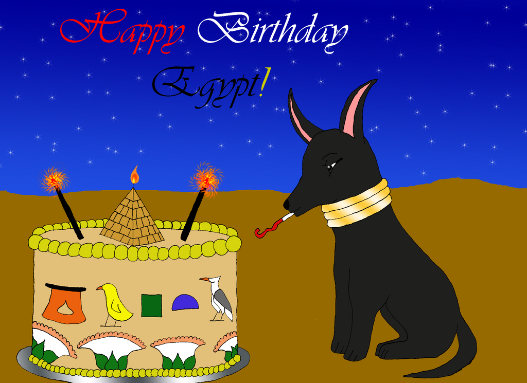 Image result for images of happy birthday with Egyptian style themes