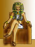CE: Pharaoh Hatshepsut by Oceanisuna