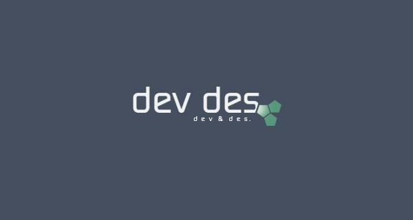 Dev , Des - logo by Omar1996
