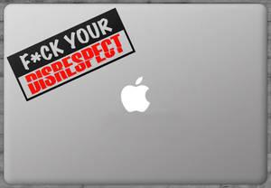 Sticker Fuck Your Disrespect