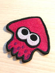 Splatoon 2 Embroidery Patch