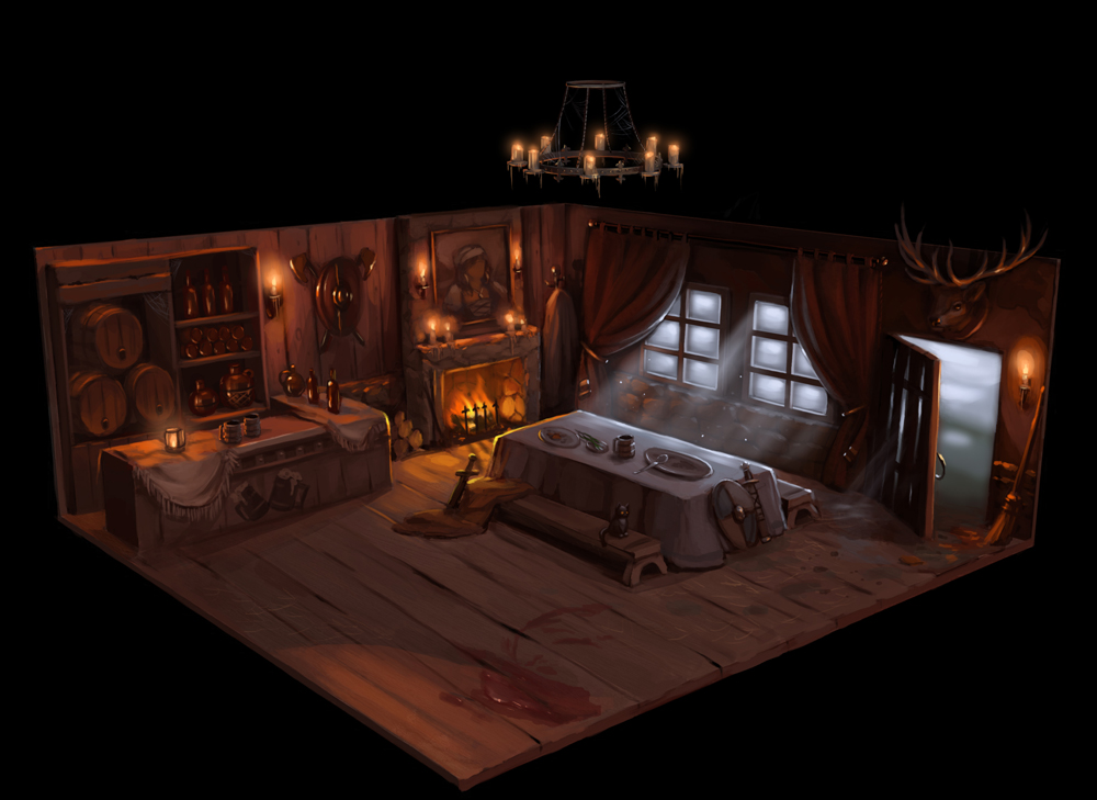 concept tavern by StanislavNovarenko
