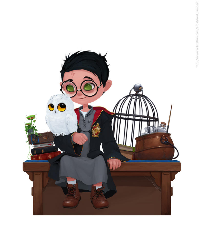 Harry Potter by StanislavNovarenko