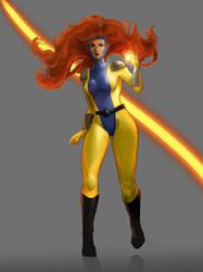 Jean Grey Phoenix by hoshimem