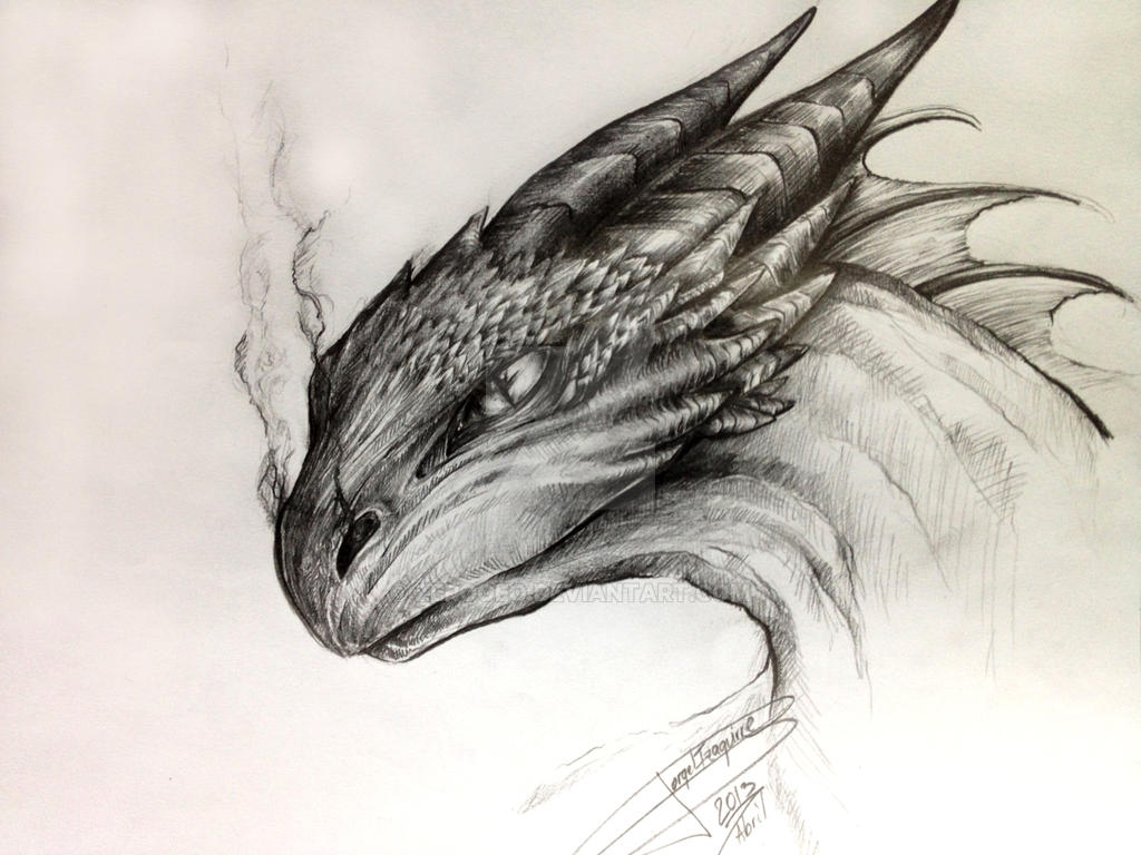 Dragon Drawing By Zerogeo On DeviantArt