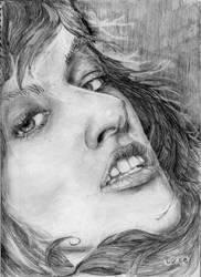 milla jovovich by Zerogeo