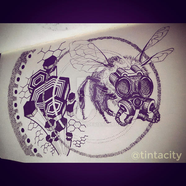 Kewl Bee by tintacity