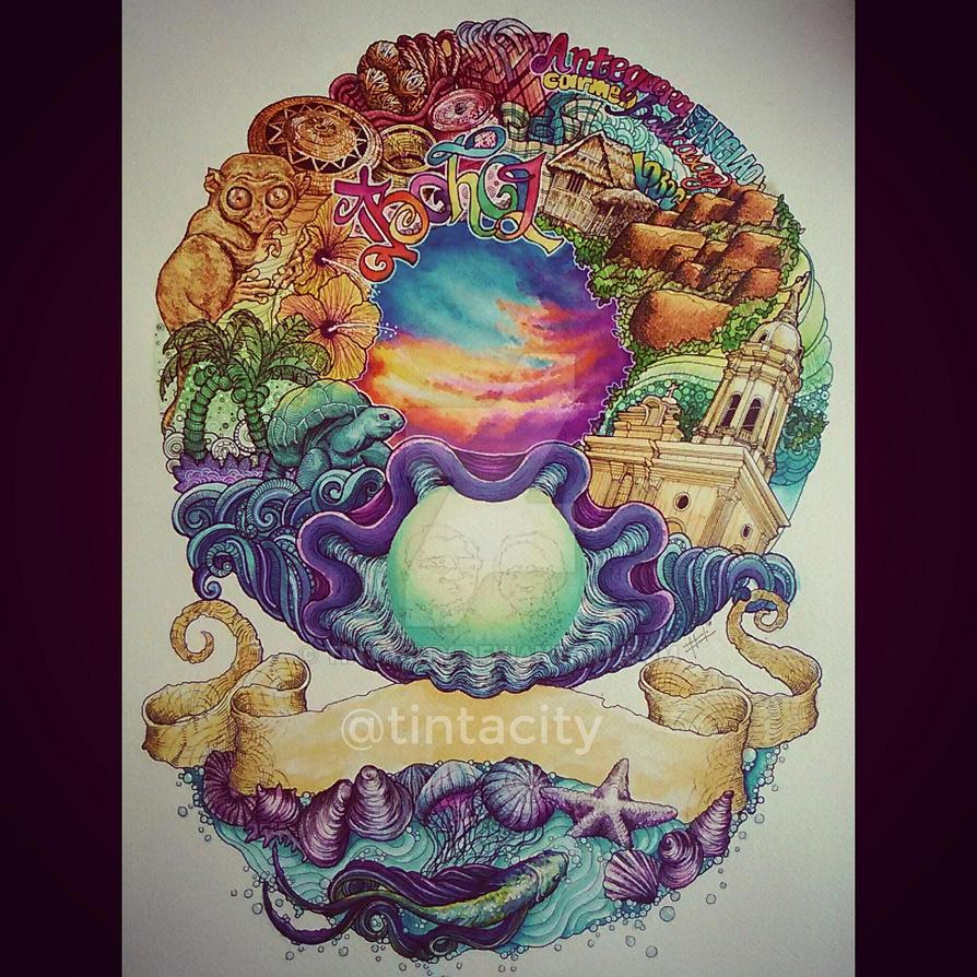 BOHOL Doodle Poster by tintacity