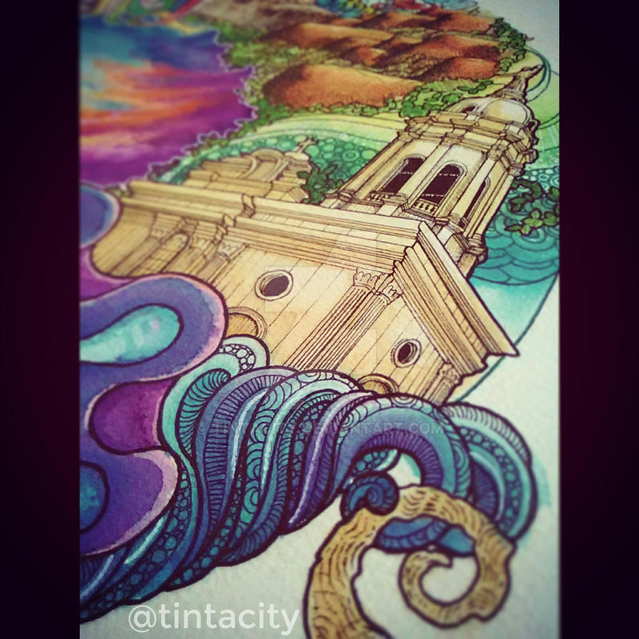 Details for BOHOL Doodle Poster 2 by tintacity