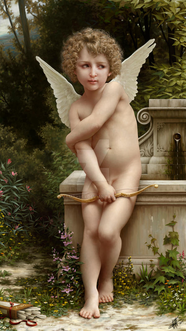 Ode to Bouguereau by vampyre1