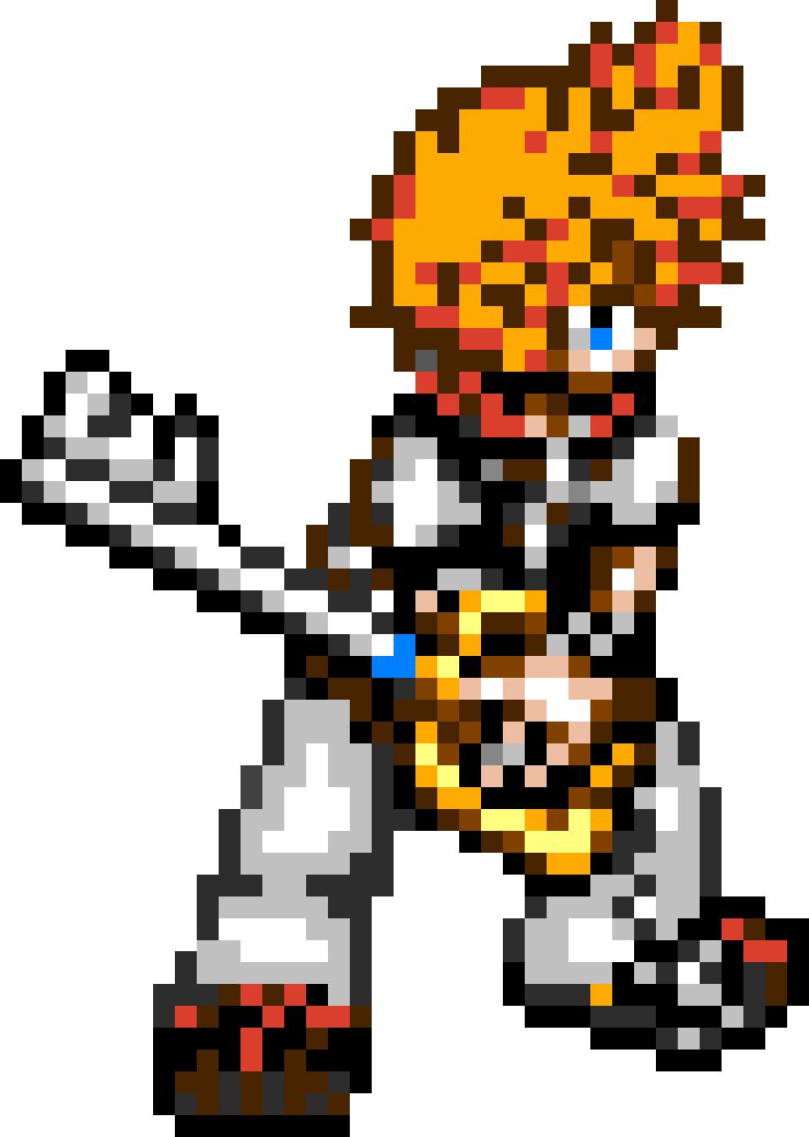 pixel art kingdom hearts