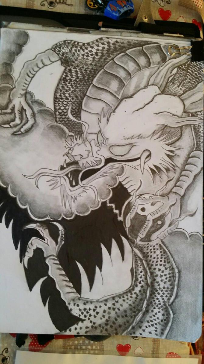 dragon by dragons74