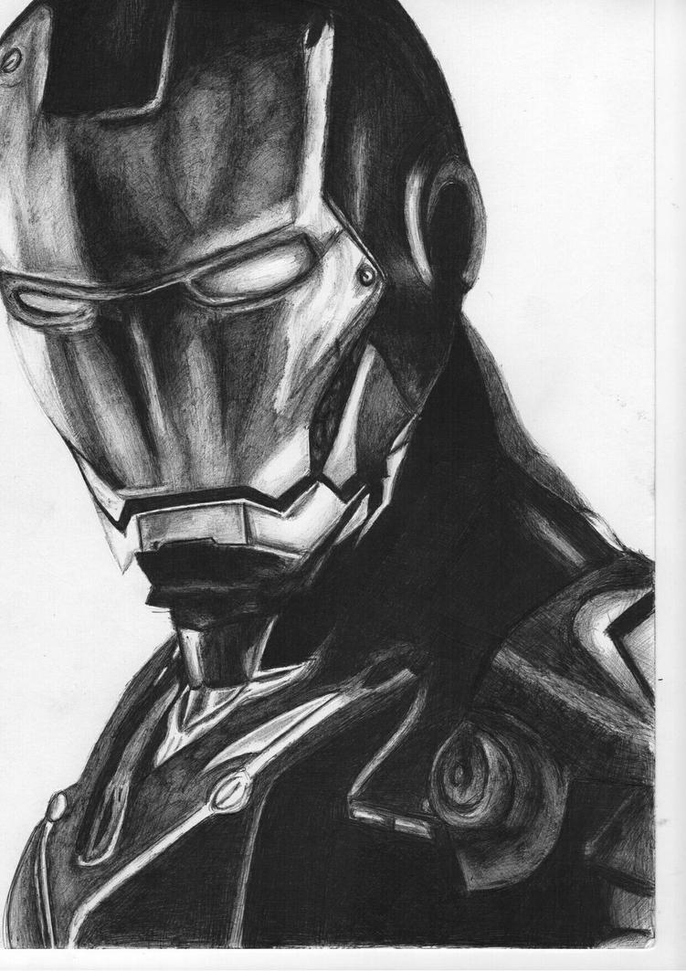 ironman by dragons74