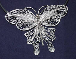 Filigree butterfly by Peevo