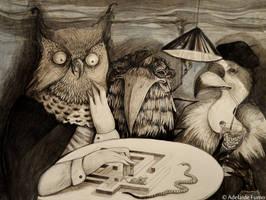 Rapaci_Birds of prey by AdelaideFumo
