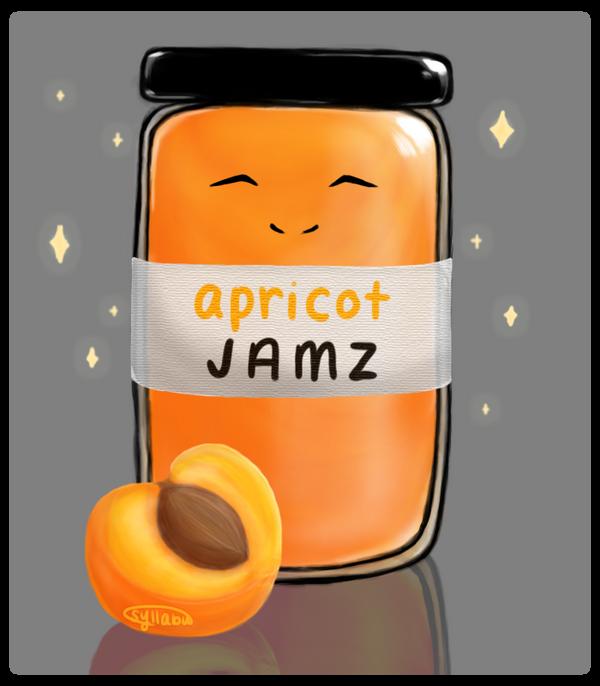 [P] apricots like to jam by syllabu