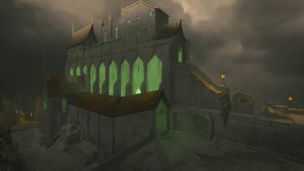 Eeeevil castle