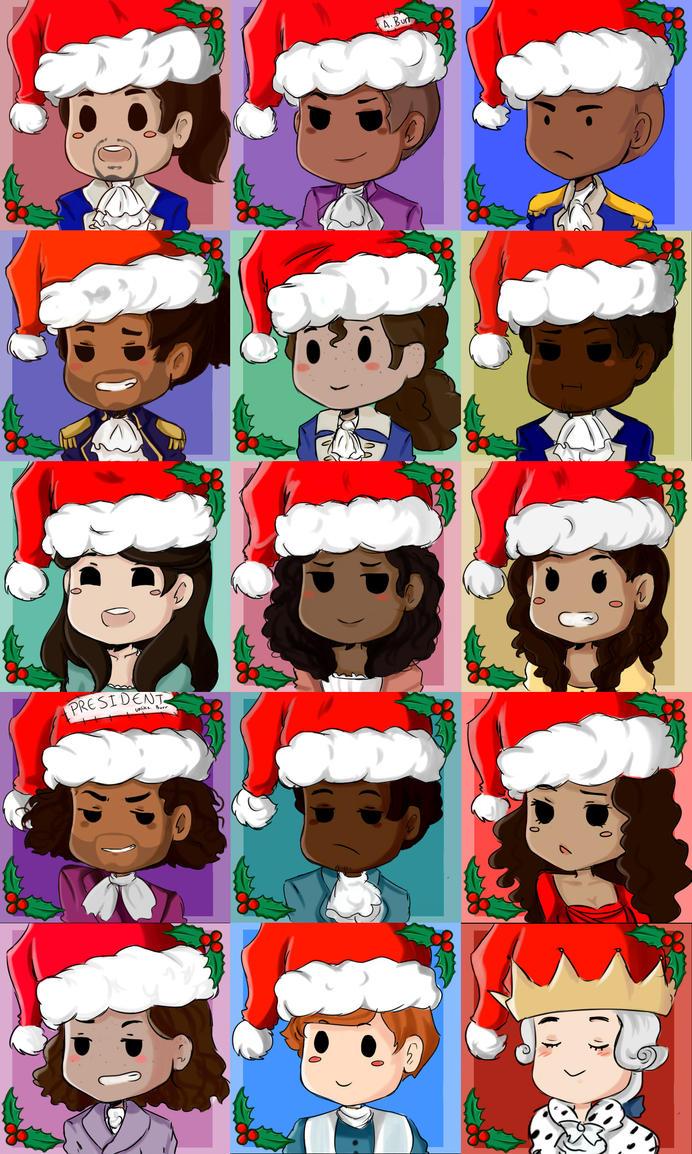 FREE TO USE! Hamilton Christmas icons by Nonirikku on DeviantArt