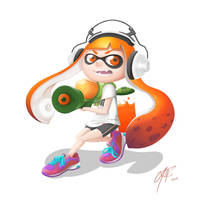 Inkling from Splatoon! by VozGris
