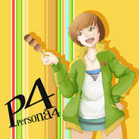 Chie Persona 4 by VozGris