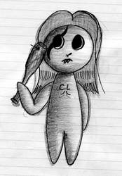 Emo Doll - C.L by Dragon-Reaper