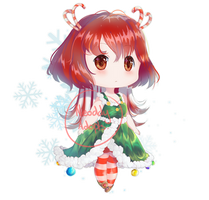 REDUCED PRICE - Christmas adoptable (OPEN)