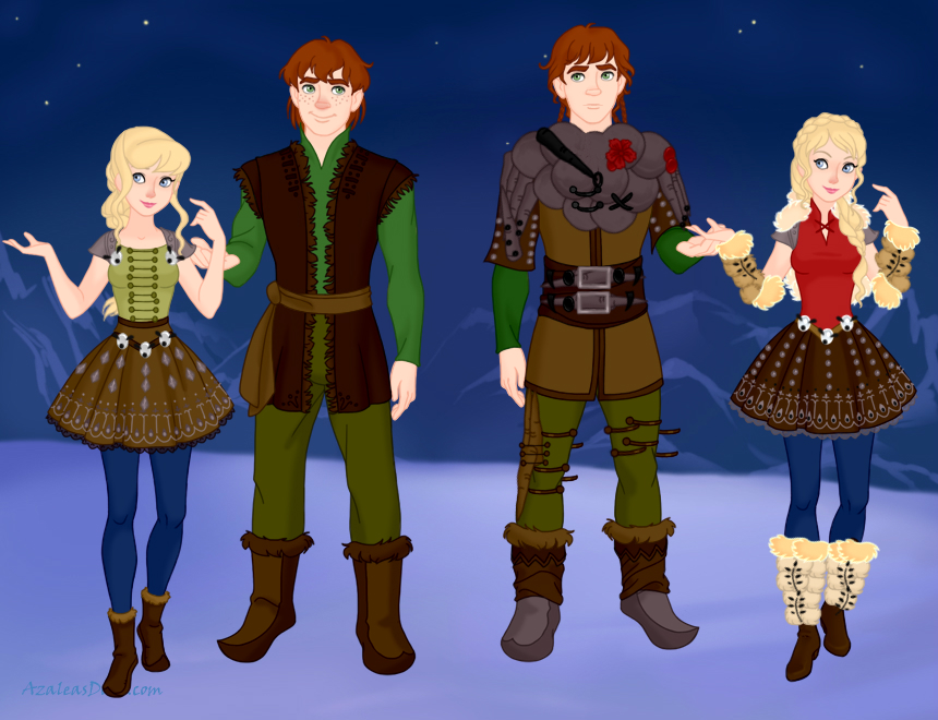 Hiccup and astrid from how to train your dragon by miranda088 on hiccup and astrid from how to train your dragon by miranda088 ccuart Choice Image