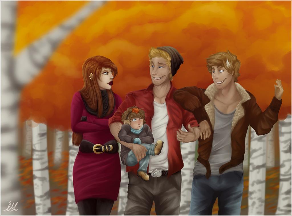 Family Portrait by ShadowMimi
