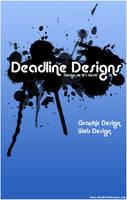 Deadline Designs Poster by jordygreen