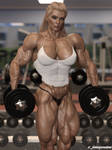 Astrid... Swedish Power House In the Gym