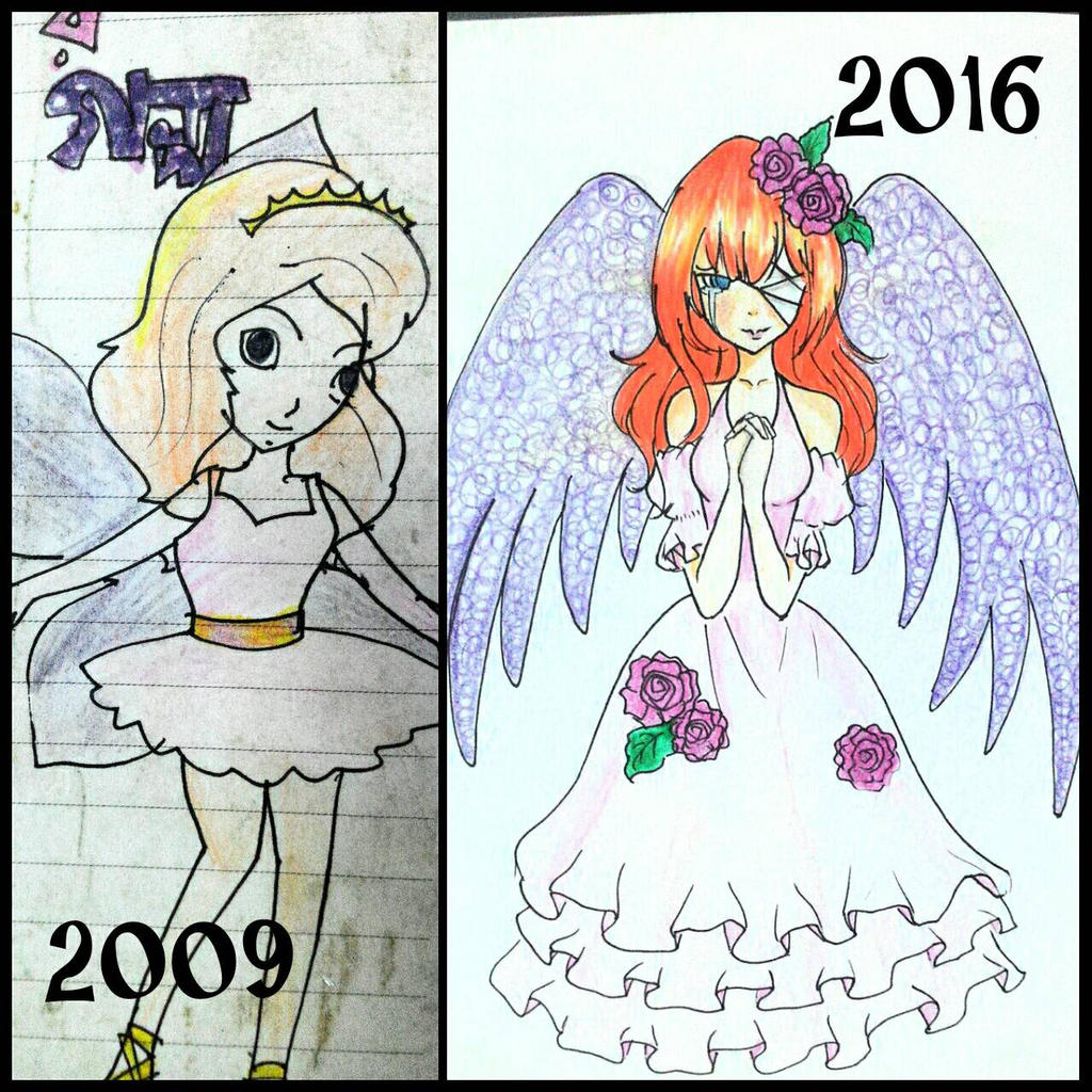 My Drawing Now And Then #4 (Anime Artist Aurpita) by ...